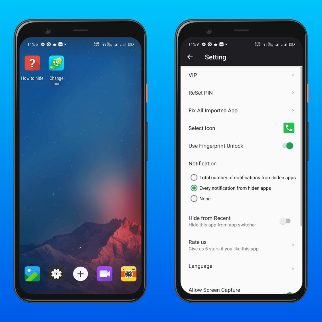Dialer Vault - App Hider for Android