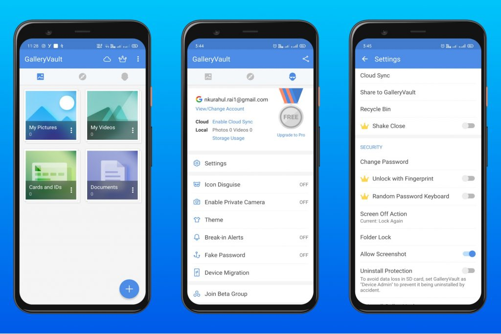 Gallery Vault for Android