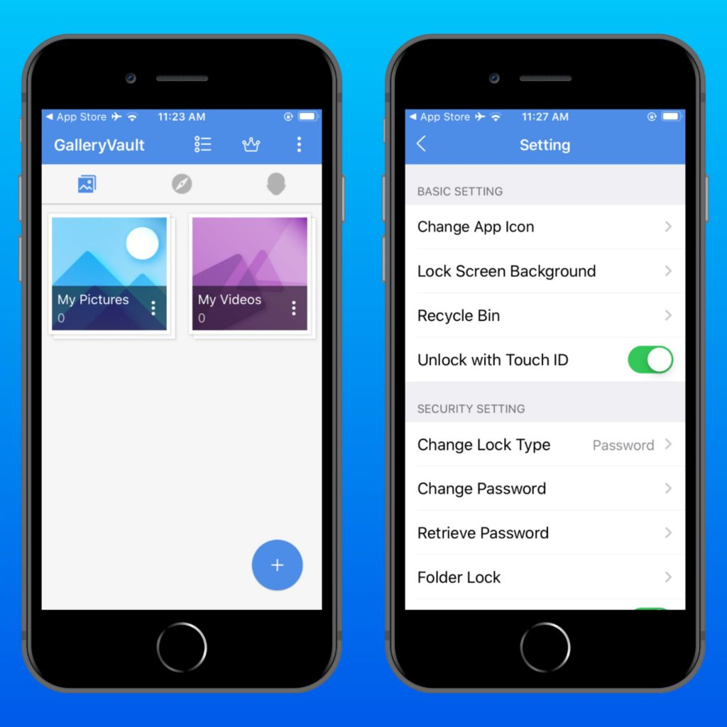 Gallery Vault for iPhone