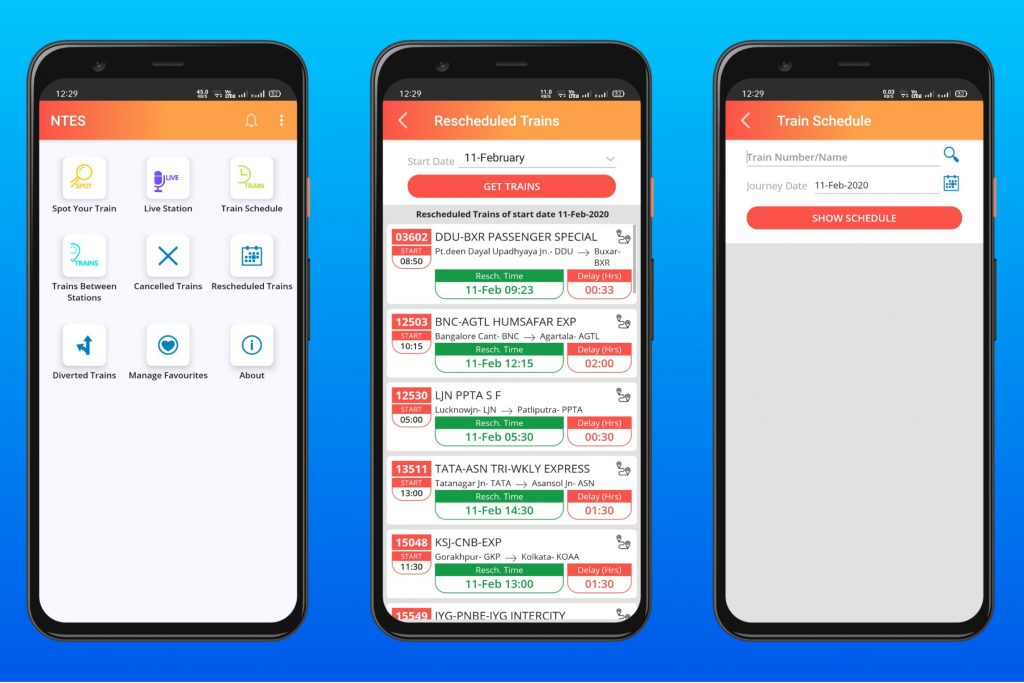 NTES - Official Indian Railway App