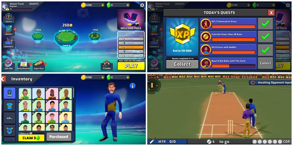 All Star Cricket (Android)
