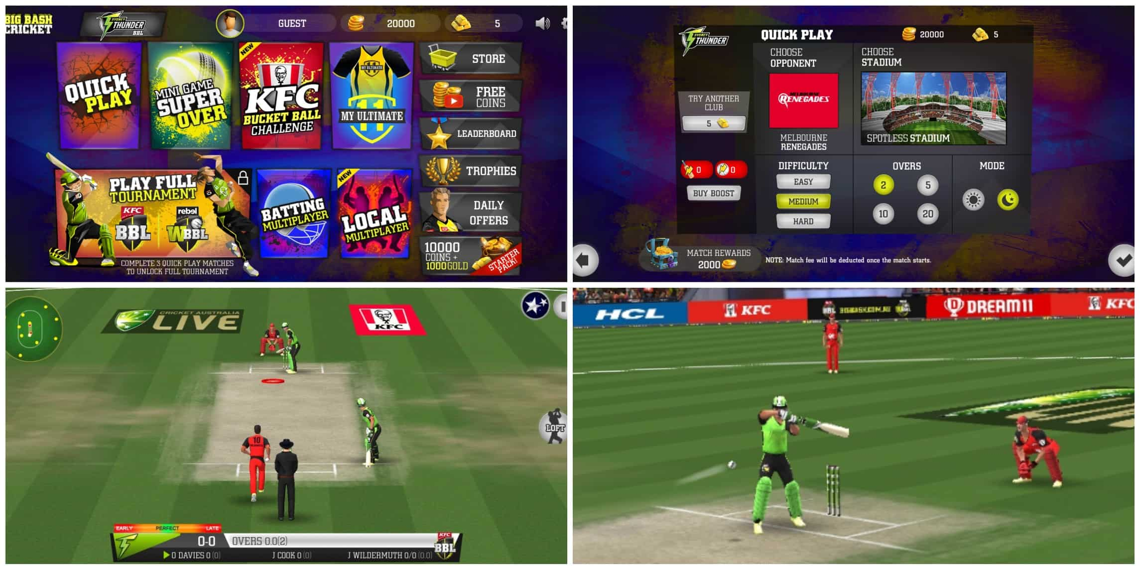 Big Bash Cricket - Best Offline cricket game