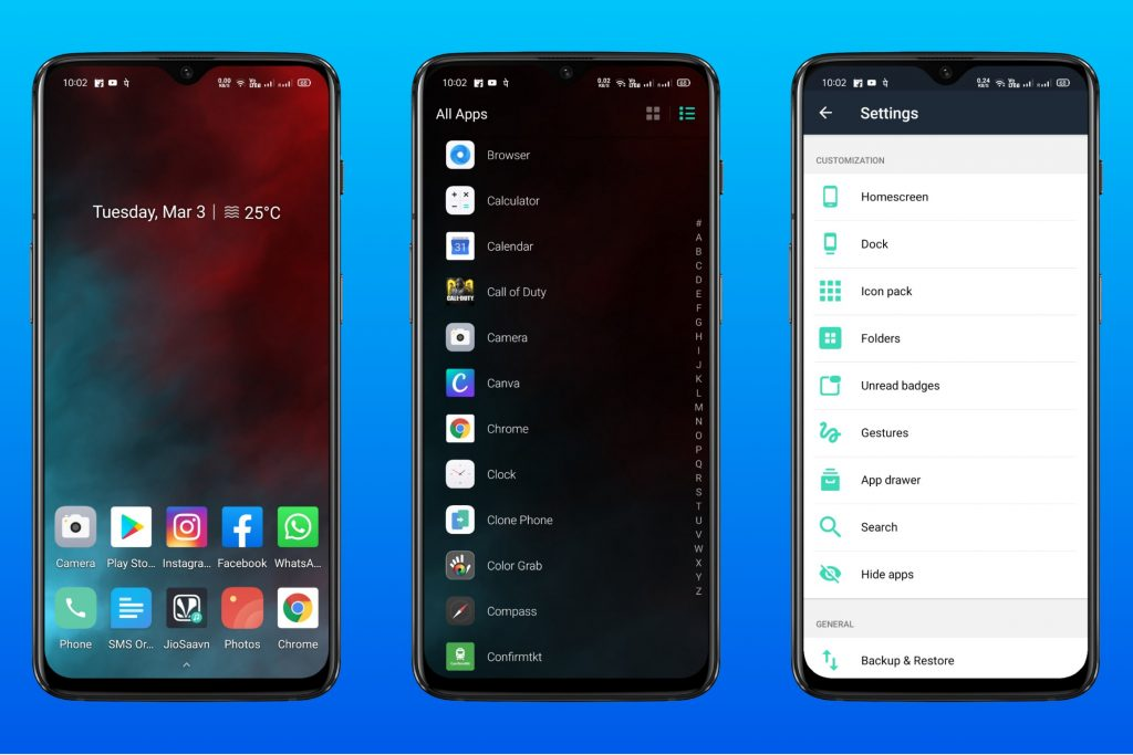 Evie Launcher - Best android launcher