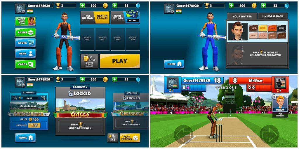 Stick Cricket Live - Best multiplayer cricket game