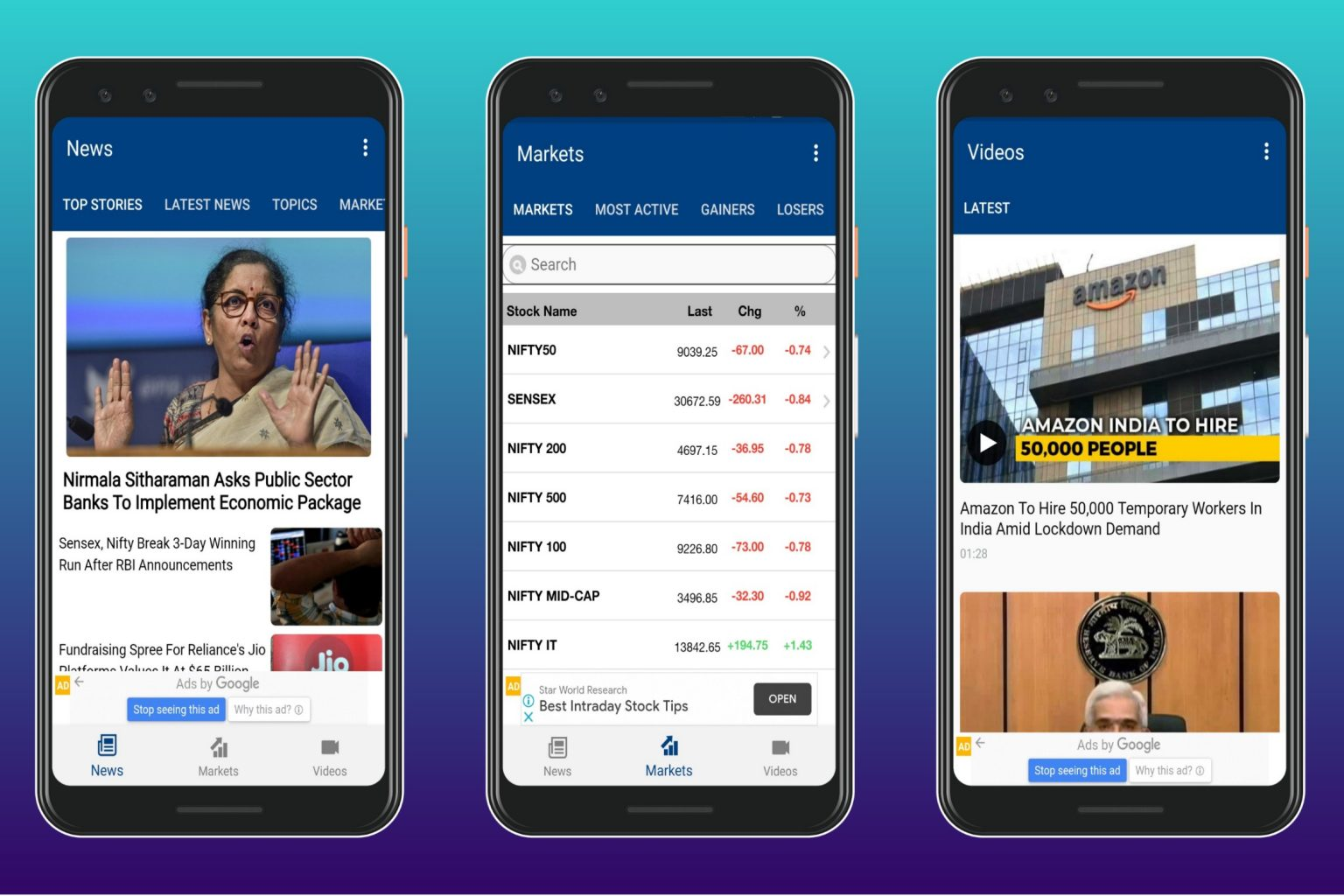 stock trading apps india