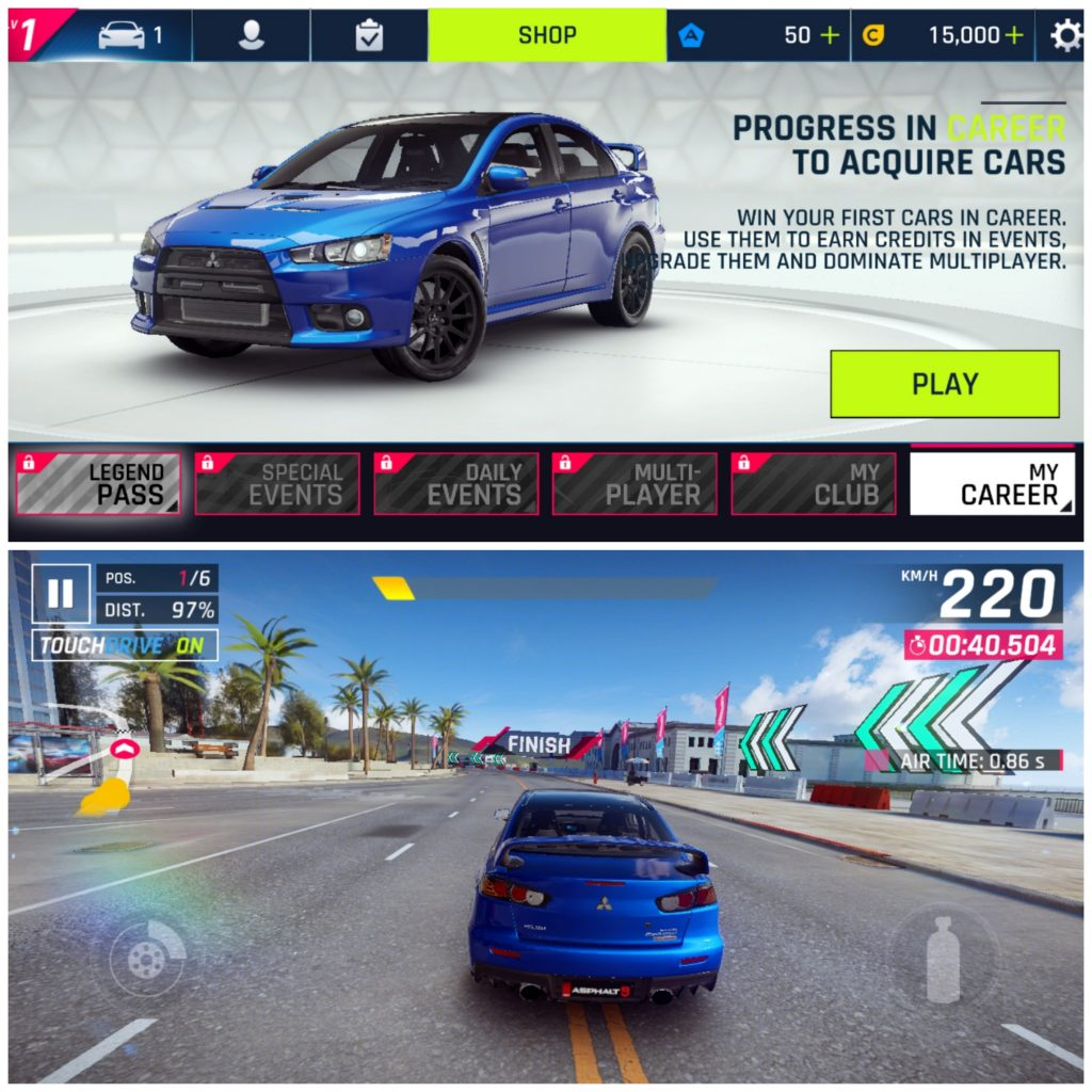 Asphalt 9 - Android and iPhone