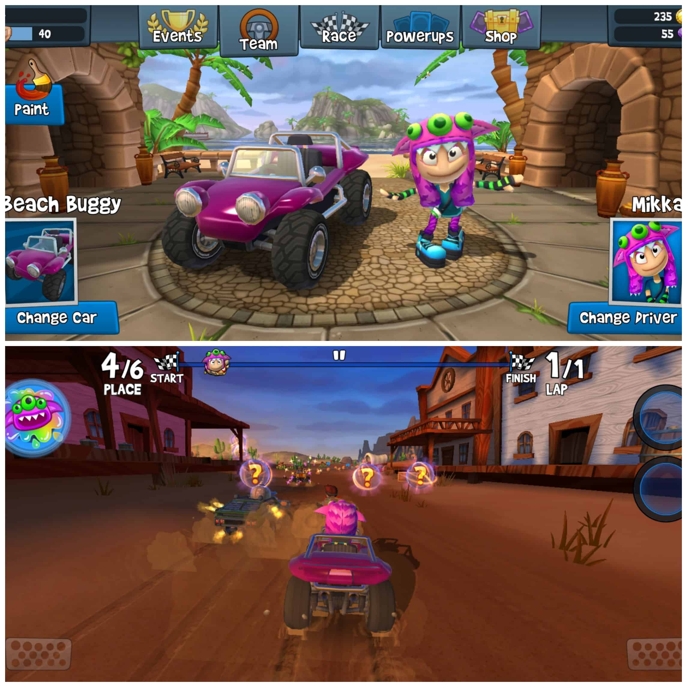 Beach Buggy Racing 2 - Android/iPhone