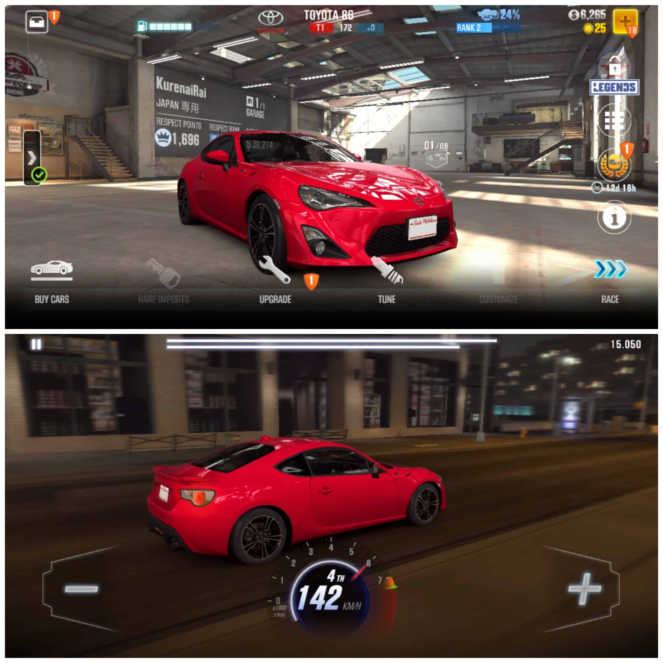 CSR Racing 2 - Android/iPhone
