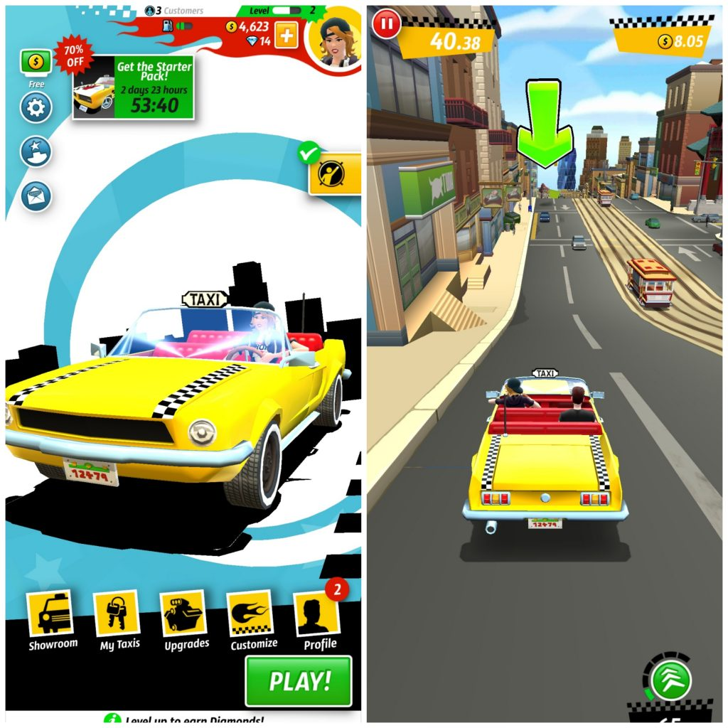 Crazy Taxi City Rush - Android/iPhone