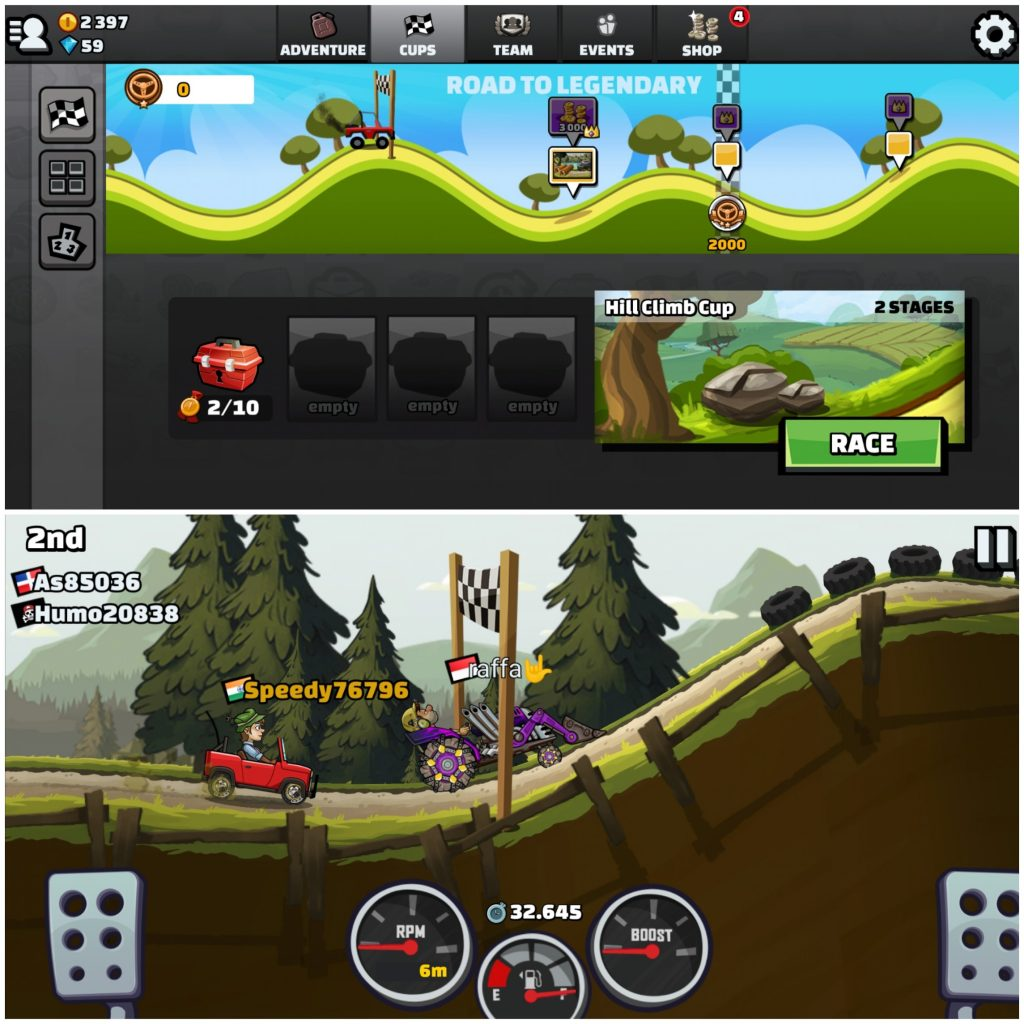 Hill Climb Racing 2 - Android and iPhone