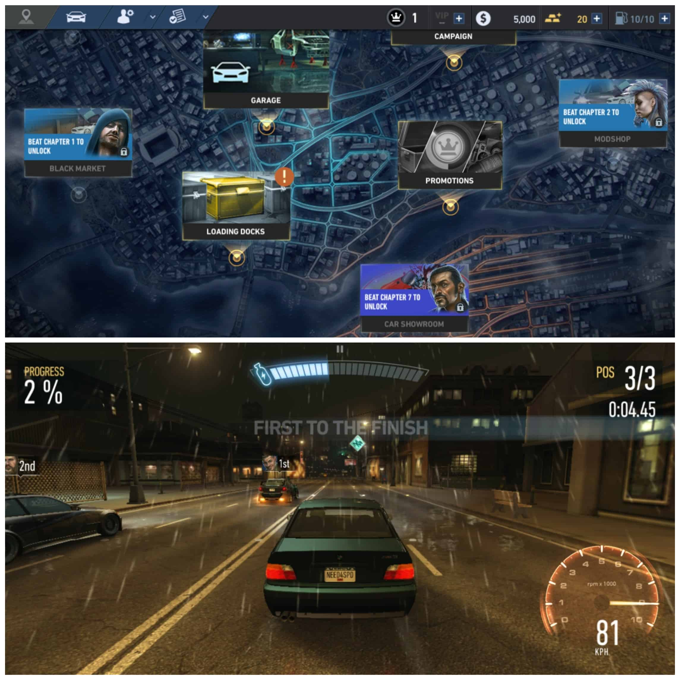 NFS No Limits - Android/iPhone