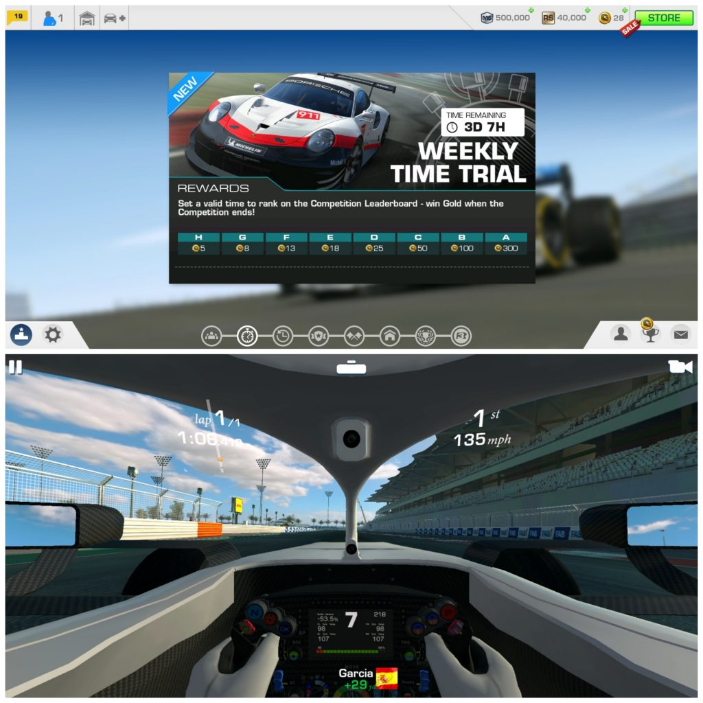 Real Racing 3 (Android/iPhone)