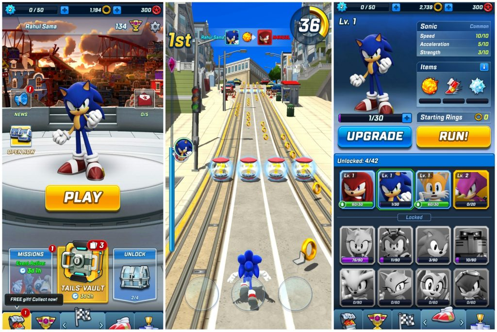 Sonic Forces - Android & iPhone