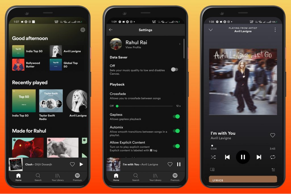 Spotify - Popular Android App for Free Music