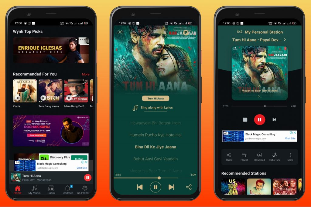 Wynk Music - Android