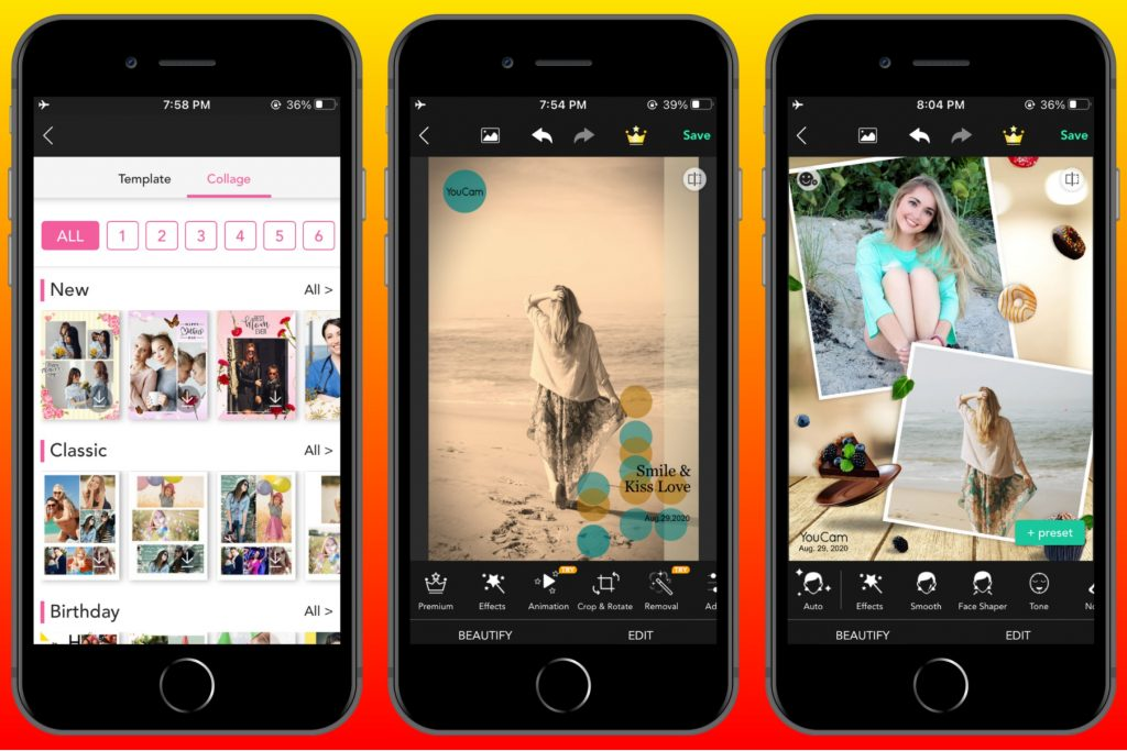 YouCam Perfect - Best Photo Editing App iPhone
