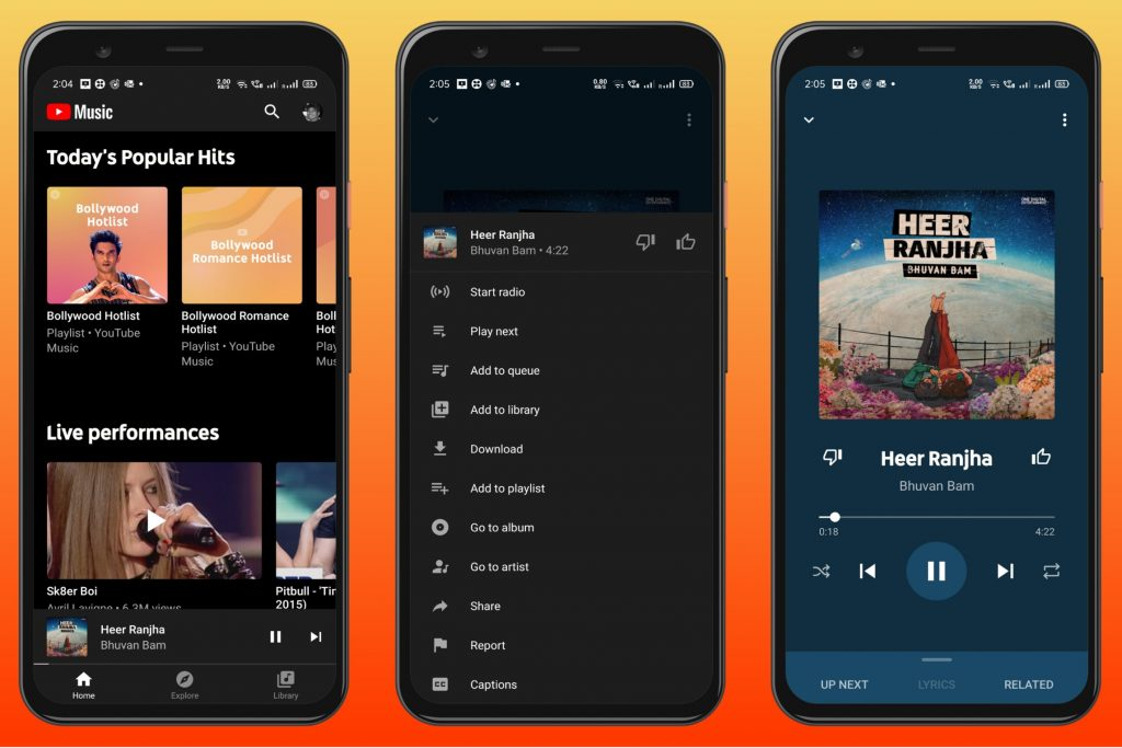 YouTube Music - Android