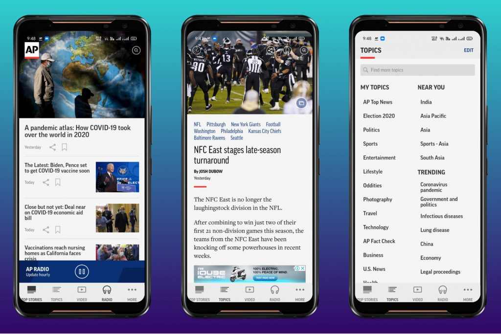 AP News for Android & iPhone