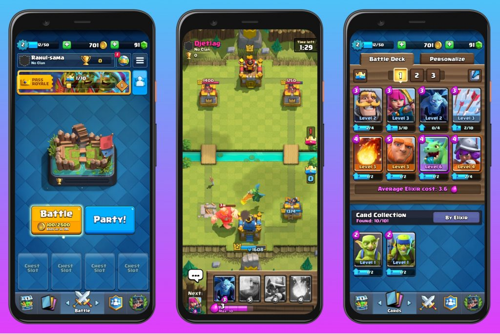 Clash Royale - Fast-paced strategy game