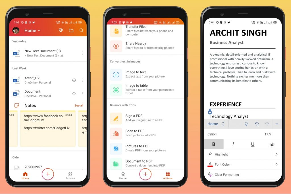 Microsoft Office - Must-have App for Android