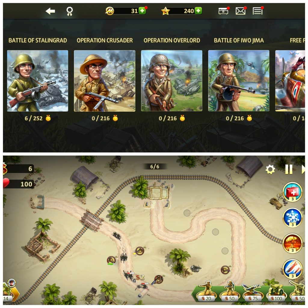 Toy Defence 2 for iOS and Android
