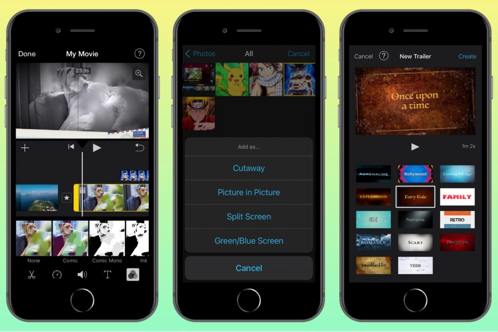 iMovie - Free movie maker for iPhone/iPad