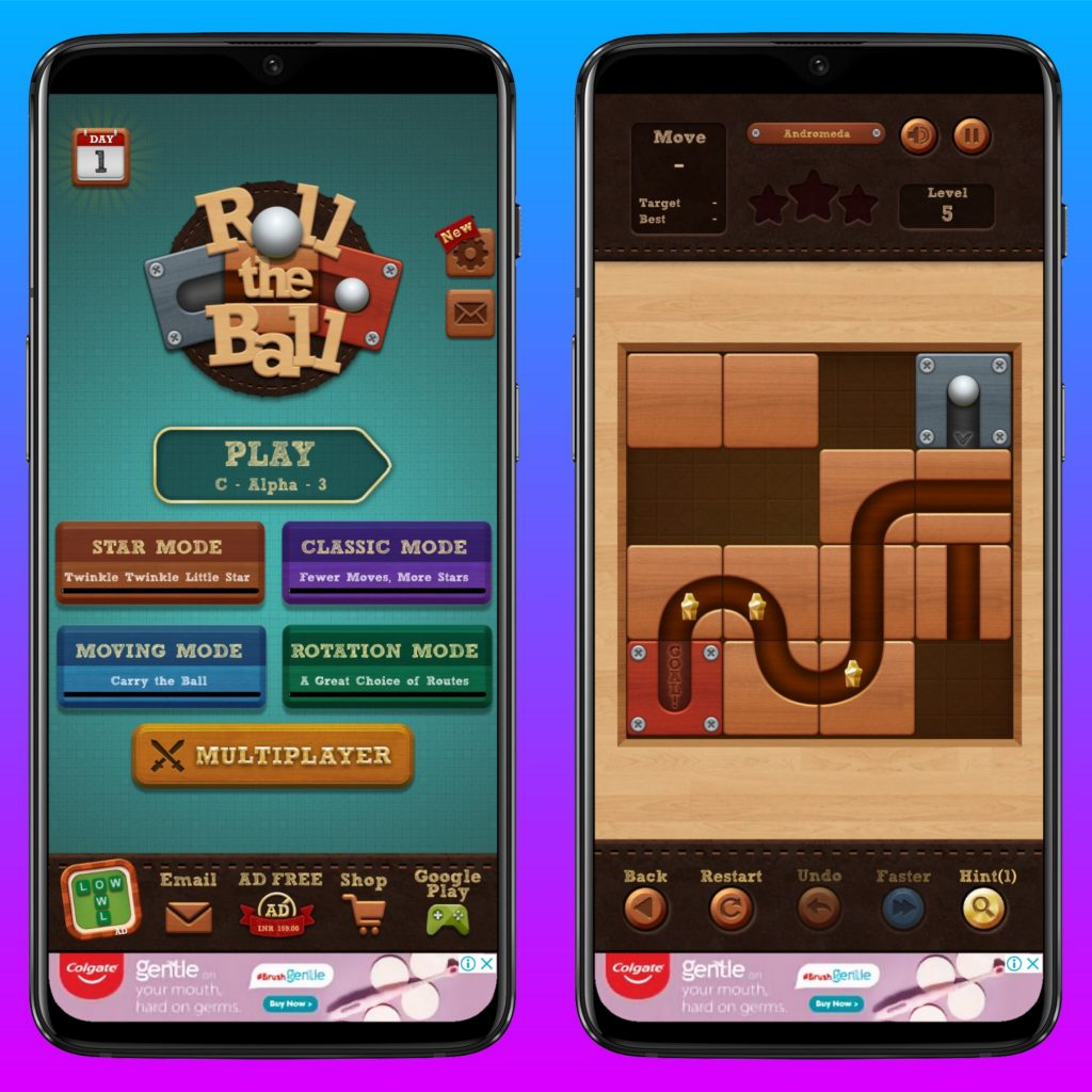 Roll the Ball for iOS and Android