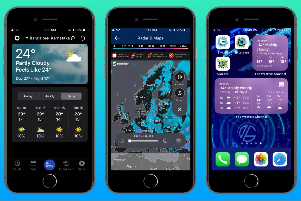 The Weather Channel (iPhone-iPad)