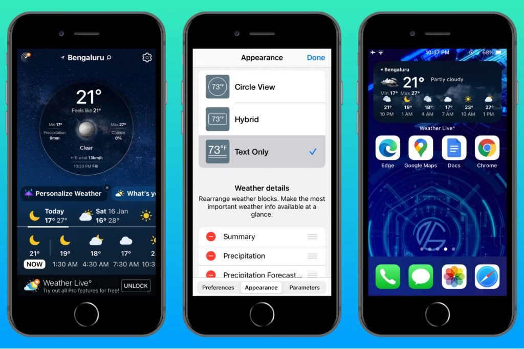 Weather Live for iOS & iPadOS