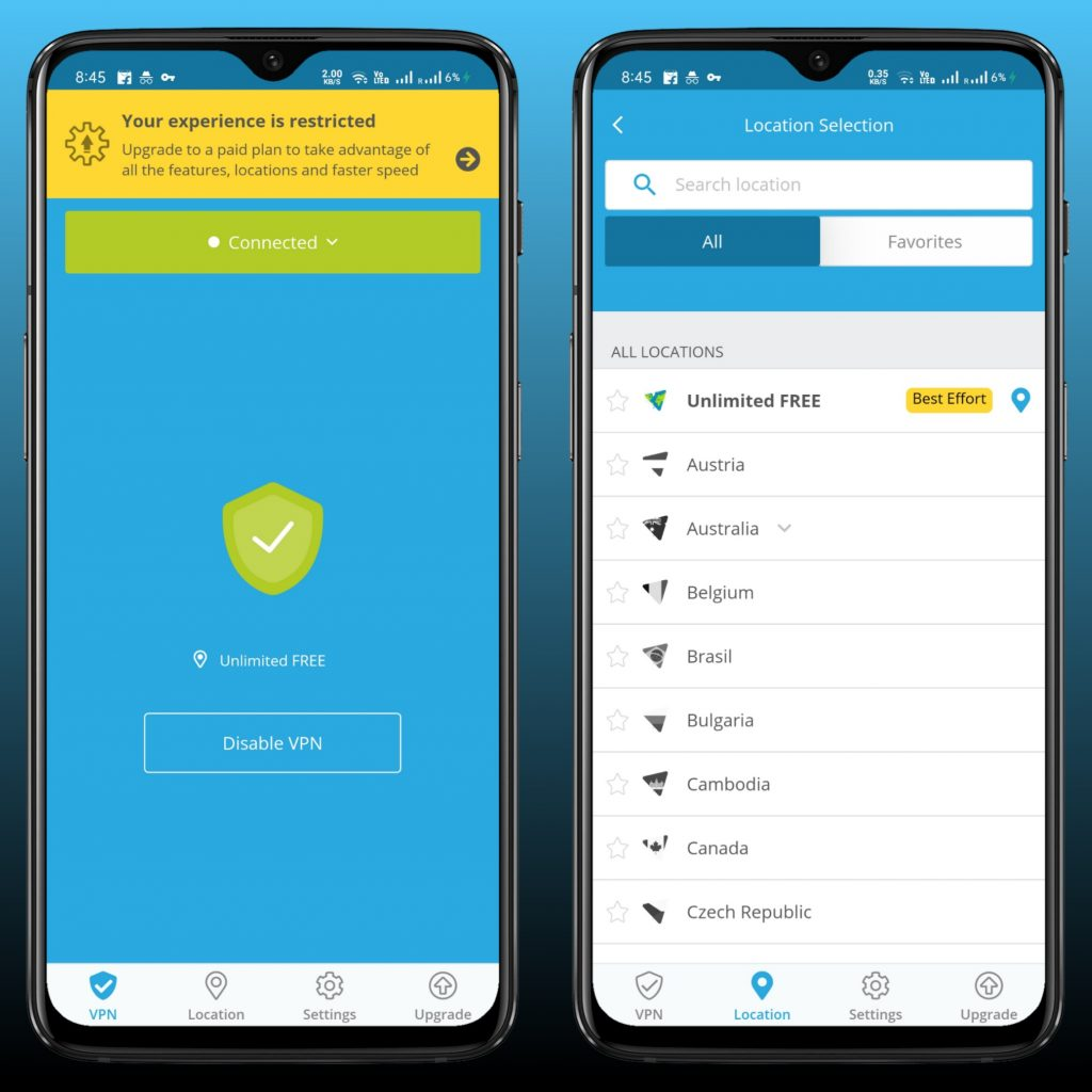 Hide.me VPN (Android)