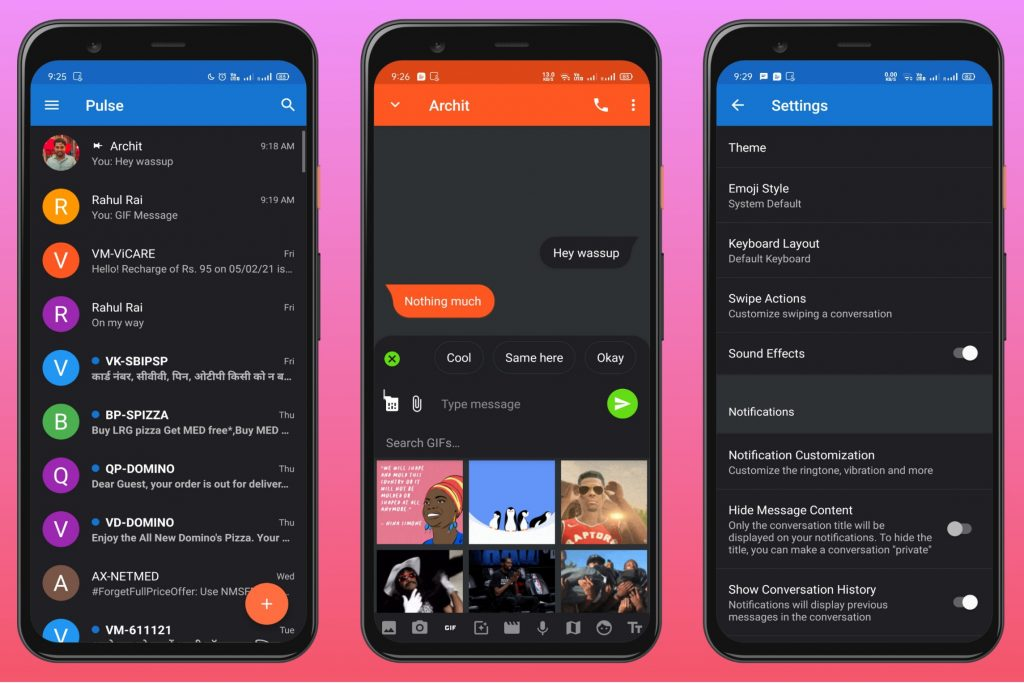 Pulse SMS - Ad-free SMS App
