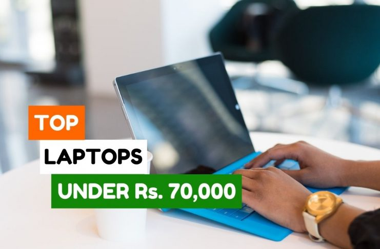 Best Laptops under 70000 in India