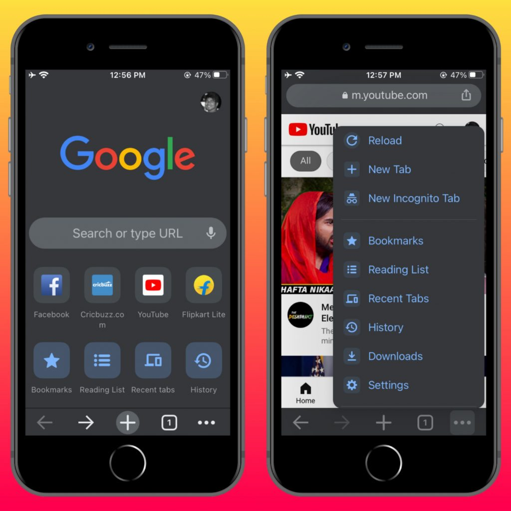 Google Chrome - Best iPhone Browser